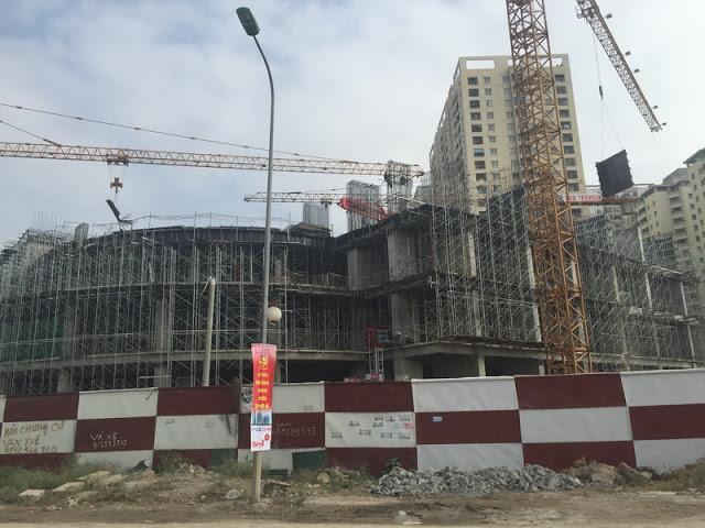 Tiến độ xây dựng HPC Landmark 105