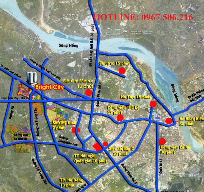 Vi trí dự án Brigh City