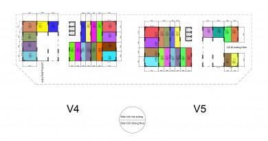 Bán kiot tòa V4-V5-V6 Chung cư The Vesta Hà Đông