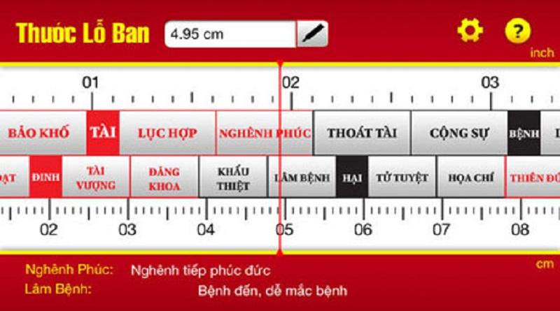 Cách sử dụng thước Lỗ Ban chính xác