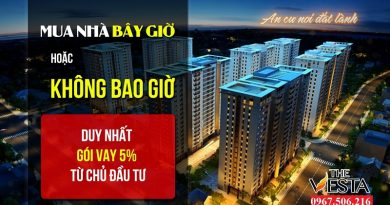 Nhà Ở Xã Hội The Vesta Hà Đông Giá Từ 800 Triệu Hỗ Trợ Lãi Suất 5%