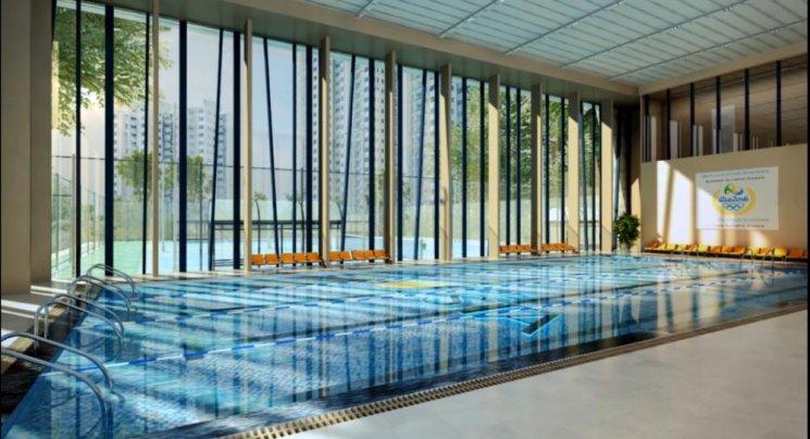 Bể bơi dự án The Vesta