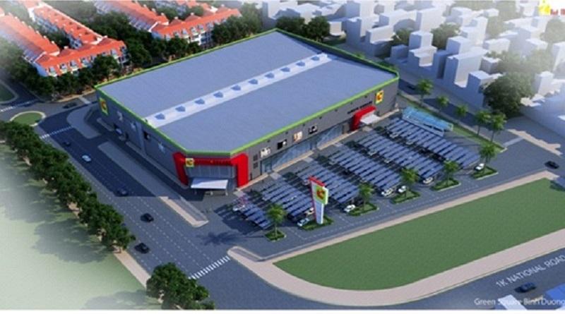 Trung tâm thương mại khu đô thị Phú Lương