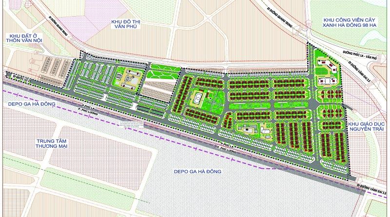 Tổng quan khu đô thị Phú Lương