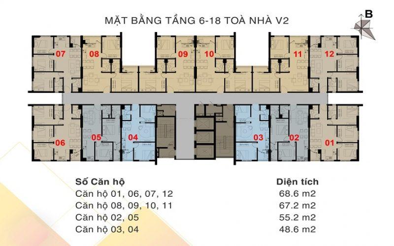 tòa V2 – T6-T18
