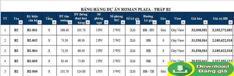 bang-gia-roman-plaza-hai-phat