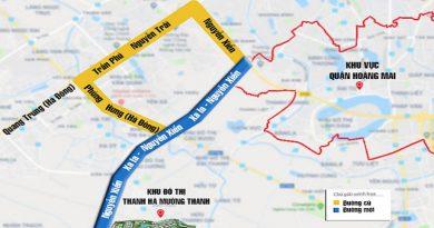 🔹Quy Hoạch Đường Xa La – Nguyễn Xiển (Đường Trục Phía Nam)