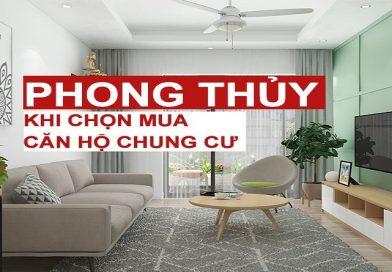 Phong thủy khi chọn mua căn hộ chung cư